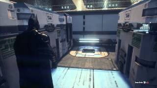 getlinkyoutube.com-Batman Arkham Knight Puzzle - Tilt Airship (cargo hold)