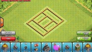getlinkyoutube.com-Diseño de aldea defensiva Ayuntamiento nivel 5