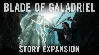 Shadow of War - Blade of Galadriel Story Expansion Trailer