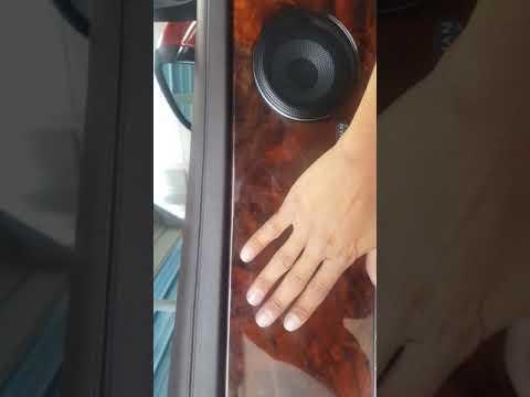 Jaguar xj 16 door panel removal and mirror replacement