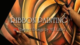 getlinkyoutube.com-Abstract Ribbon Painting Techniques How to Demo Blending, Shading