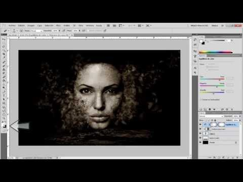 Tutorial Photoshop :Efecto dispersion de cara