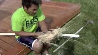 getlinkyoutube.com-Fire Starting Techniques-- Survival The Samoan Way