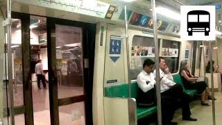 getlinkyoutube.com-SMRT Trains C651, Siemens EMU (GTO-VVVF) - City Hall to Raffles Place (North-South MRT Line)