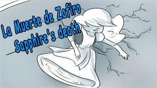 getlinkyoutube.com-Steven Universe Comic - La muerte de Zafiro / Sapphire's death