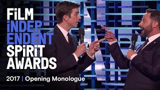getlinkyoutube.com-Nick Kroll & John Mulaney's Opening Monologue at the 2017 Film Independent Spirit Awards
