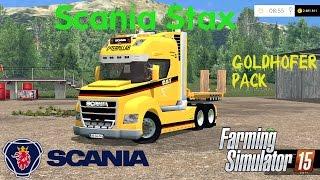 getlinkyoutube.com-Scania Stax Goldhofer Pack - Farming Simulator 2015