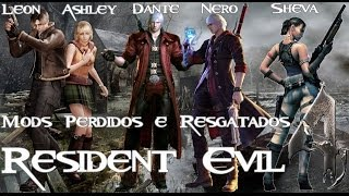 getlinkyoutube.com-Resident Evil 4 -Mods Resgatados- Coletânea Geral (Personagens e Inimigos)