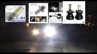 getlinkyoutube.com-Car LED, review, test and comparison, winter 2015/16