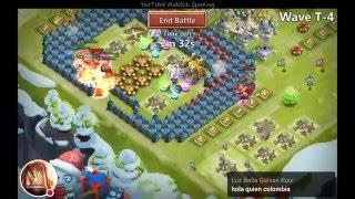 getlinkyoutube.com-My First Castle Clash Stream And HBM-T Victory