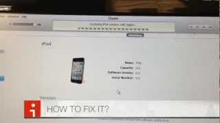 getlinkyoutube.com-How to FIX error 21 on iPhone / iTouch