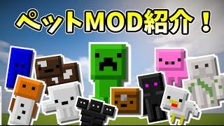 getlinkyoutube.com-【Minecraft】ペットMOD紹介!マインクラフトでペットが飼える!【ことぶき】