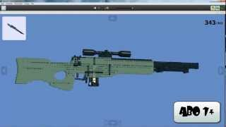 getlinkyoutube.com-Bauanleitung für Lego L96A1 (Sniper-Rifle) Working