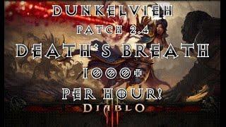 getlinkyoutube.com-Diablo 3 Patch 2.4 Wizard crazy Deaths Breath Farming, 1000++ per Hour!