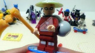 getlinkyoutube.com-jlb 나루토 가아라 모래마을 닌자 피규어 레고 짝퉁 lego knockoff naruto 조립기