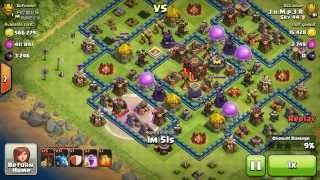 getlinkyoutube.com-Th9 titan raid @ 4300+ , surgical Loonion attack