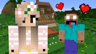 getlinkyoutube.com-If Herobrine fell in Love with a Girl - Minecraft