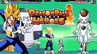 getlinkyoutube.com-Goku & Gohan vs Kuriza & Frieza - Dragon Ball Super Fight M.U.G.E.N