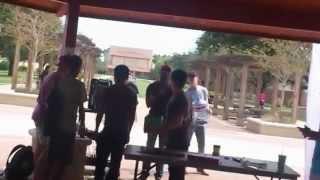 getlinkyoutube.com-رقص خبيتي دوسري في امريكا ترقيص الامريكان طالب سعودي