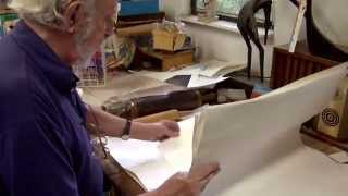 getlinkyoutube.com-David Crown - Mezzotint Demonstration