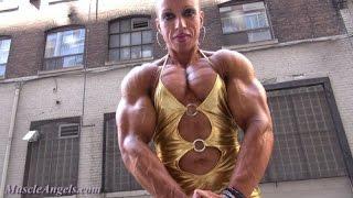 getlinkyoutube.com-Workout Female Bodybuilding - Virginia Sanchez