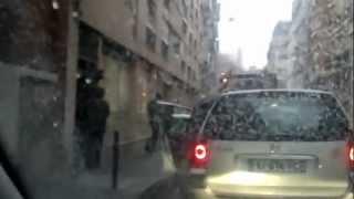 Morsay se bat contre un éboueur