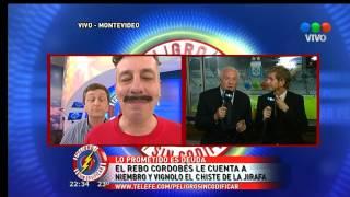 getlinkyoutube.com-Yayo y el chiste de la Jirafa a Niembro y Vignolo 15/10/2013