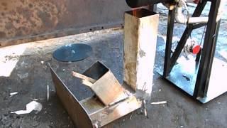 getlinkyoutube.com-Stirling engine and rocket stove