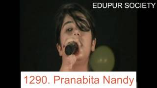 Singing by Pranabita Nandy