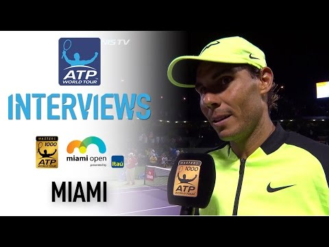 Nadal Reflects On Sock Victory At Miami 2017