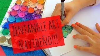 getlinkyoutube.com-Zentangle art Navideño!