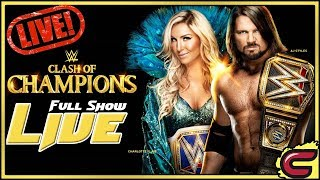 WWE Clash Of Champions 2017 Live Full Show December 17th 2017 Live Reactions