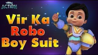 Vir: The Robot Boy   Hindi Cartoons for kids   Vir Ka Robo Boy Suit   WowKidz Action width=