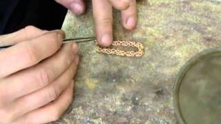 getlinkyoutube.com-зоновские преколы или как делают золотые украшения на зоне