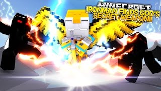 Minecraft Adventure - IRONMAN FINDS GODS SUPER SECRET WEAPON