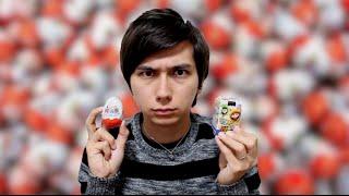getlinkyoutube.com-日本のチョコエッグ vs 外国のチョコエッグ Japanese Chocolate Egg vs Kinder Egg