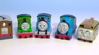 getlinkyoutube.com-THOMAS and Friends Puppet きかんしゃトーマス おもちゃ 指人形