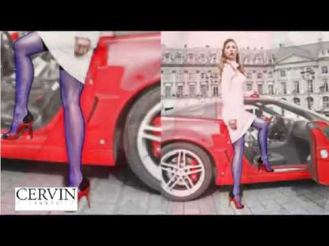 Bas coutures authentique par CERVIN Paris