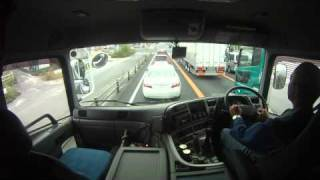 getlinkyoutube.com-トレーラーの運転風景