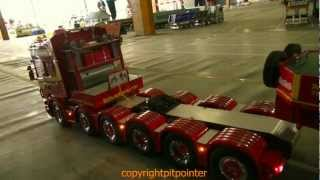 getlinkyoutube.com-SCANIA 6 Axle TAMIYA RC HEAVY HAUL
