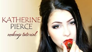 getlinkyoutube.com-Макияж Кэтрин Пирс / Katherine Pierce Makeup Tutorial (The Vampire Diaries)