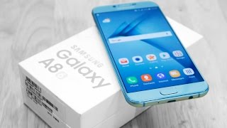 Samsung Galaxy A8 2016 - Unboxing & Hands On!