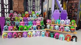 Complete Collection MONSTER HIGH MINIS all 70