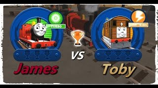 Thomas & Friends: Go Go Thomas! – James VS Toby
