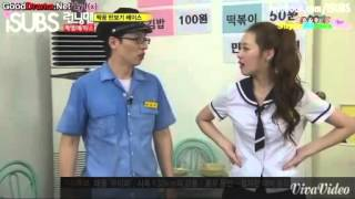 getlinkyoutube.com-[CUT] Running Man Ep 55 - Pedometer challenge cut