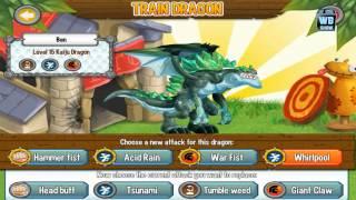 getlinkyoutube.com-Dragon City: Kaiju (Godzilla) Dragon Battle & Skills