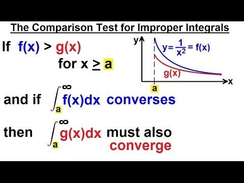Calculus 2: Improper Integrals (11 of 16) Comparison Test for Improper Integrals