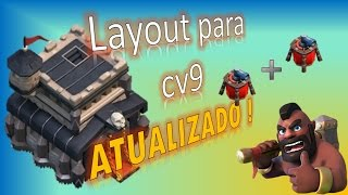 getlinkyoutube.com-Layout para centro de vila 9 atualizado com 2 dispersores aereos | Clash of clans | 2015
