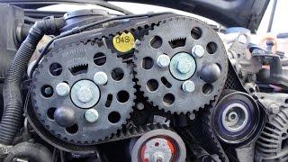 getlinkyoutube.com-Audi/Volkswagen/Skoda (Mitsubishi): Hvordan bytte registerreim 2.0TDI (DI-D) 16V pumpedysemotor