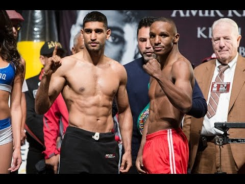 @AmirKingKhan vs @TheRealDevonA @SHOsports